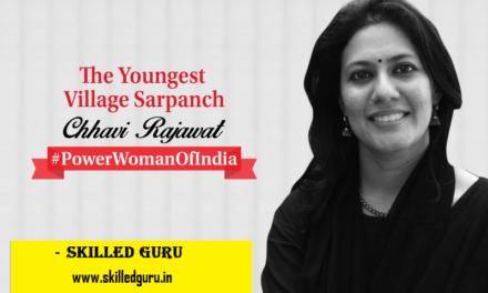 MEET CHHAVI RAJAWAT, INDIA'S YOUNGEST VILLAGE SARPANCH