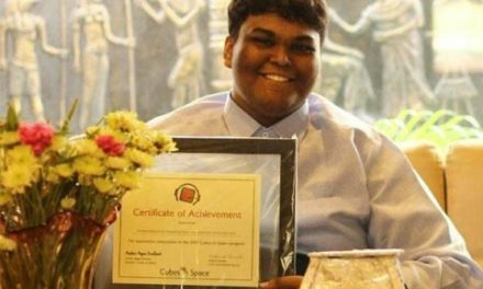 Rifath Sharook: A Teen Reached for the Stars