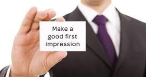 First impression in Interview