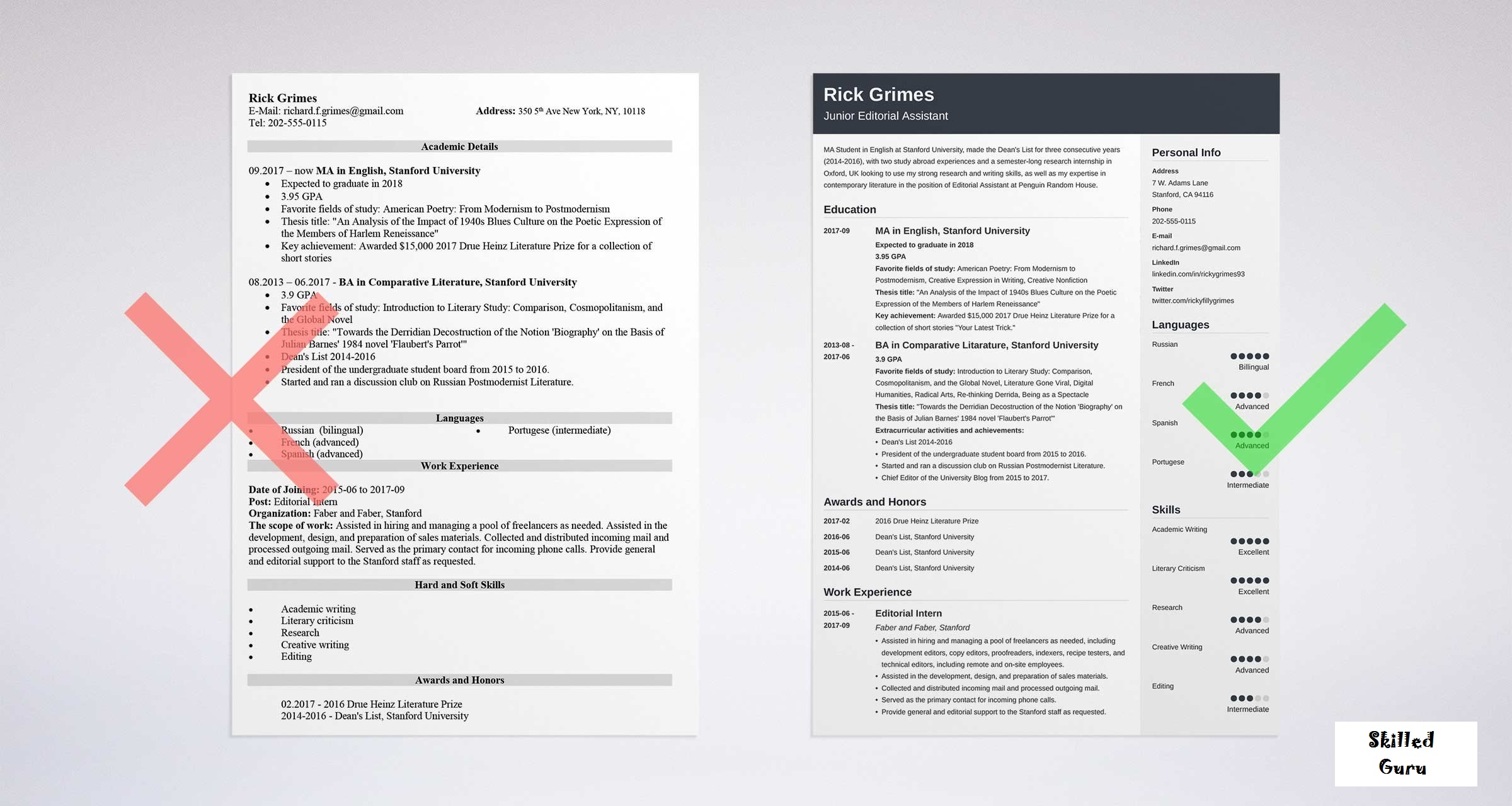 How to Make a RESUME for First Job – Resume with no Experience [2019]