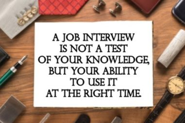 7 THINGS TO AVOID FAILURE IN JOB INTERVIEW